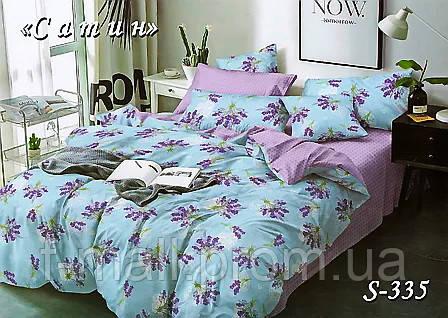 Комплект постельного белья Тет-А-Тет ( Украина ) Сатин полуторное (S-335)
