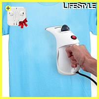 Паровой утюг RZ-608, ручной отпариватель для одежды, пароочиститель + Подарок
