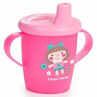 Чашка-непроливайка Canpol Babies Toys 250 мл, 31 / 200_pin Рожева