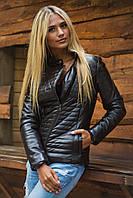 Куртка женская косуха кожзам