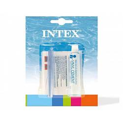 Ремкомплект Intex 59632 для надувних виробів універсальний ( латочка , клей 5,7 мл)