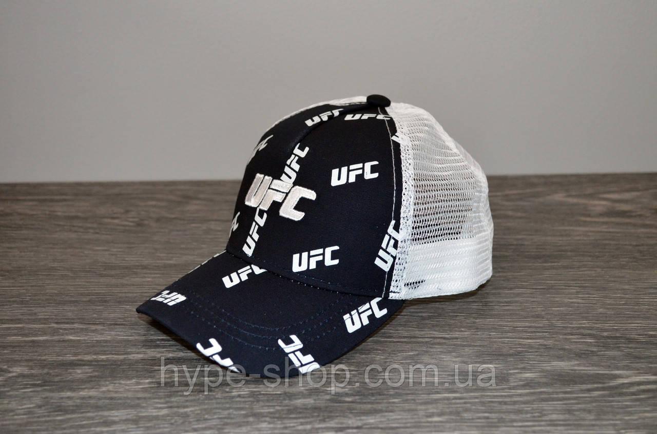 Кепка тракер синя UFC | Відмінний вибір