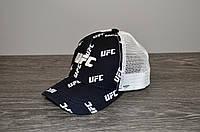 Кепка тракер синя UFC | Відмінний вибір, фото 1