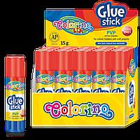 Клей-карандаш на PVP основе 15 г, Colorino