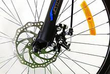 "Горный велосипед 26 дюймов Azimut Race FRD рама 18 "" BLACK-YELLOW, фото 2"