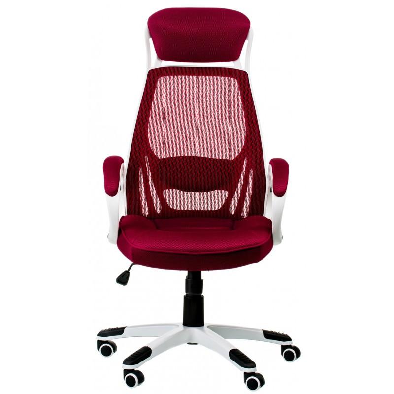 Крісло офісне Special4You Briz red/white (E0901)