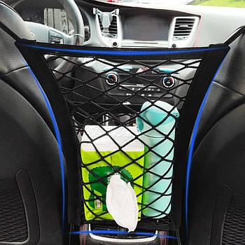 Сітка кишеню між сидіннями Elegant Maxi 300x250mm (100673)