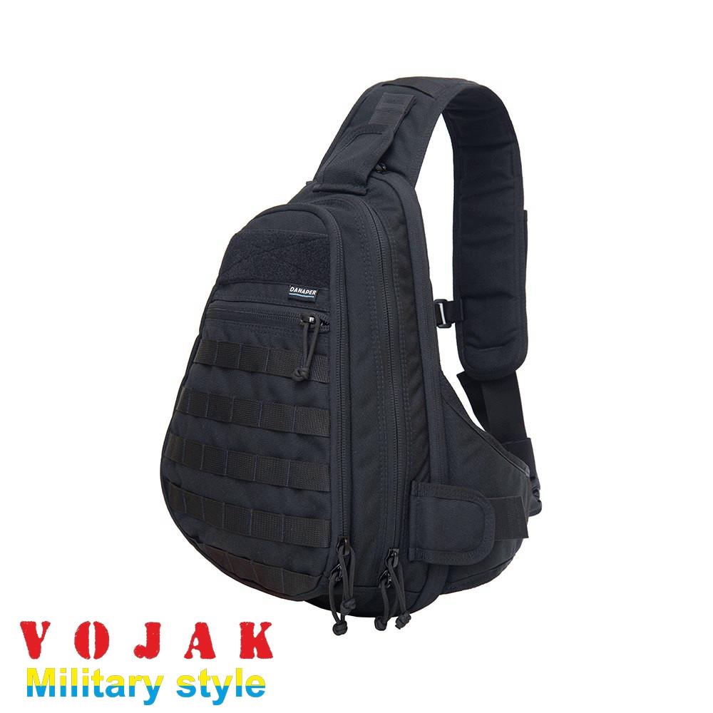 Рюкзак слингер DANAPER STEALTH під зброю (Black)