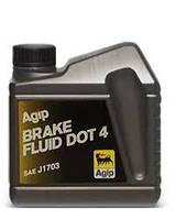 Жидкость тормозная AGIP BRAKE FLUID DOT 4