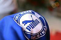 Толстовка утепленная PUMA Sport Wear ORIGINAL синяя унисекс
