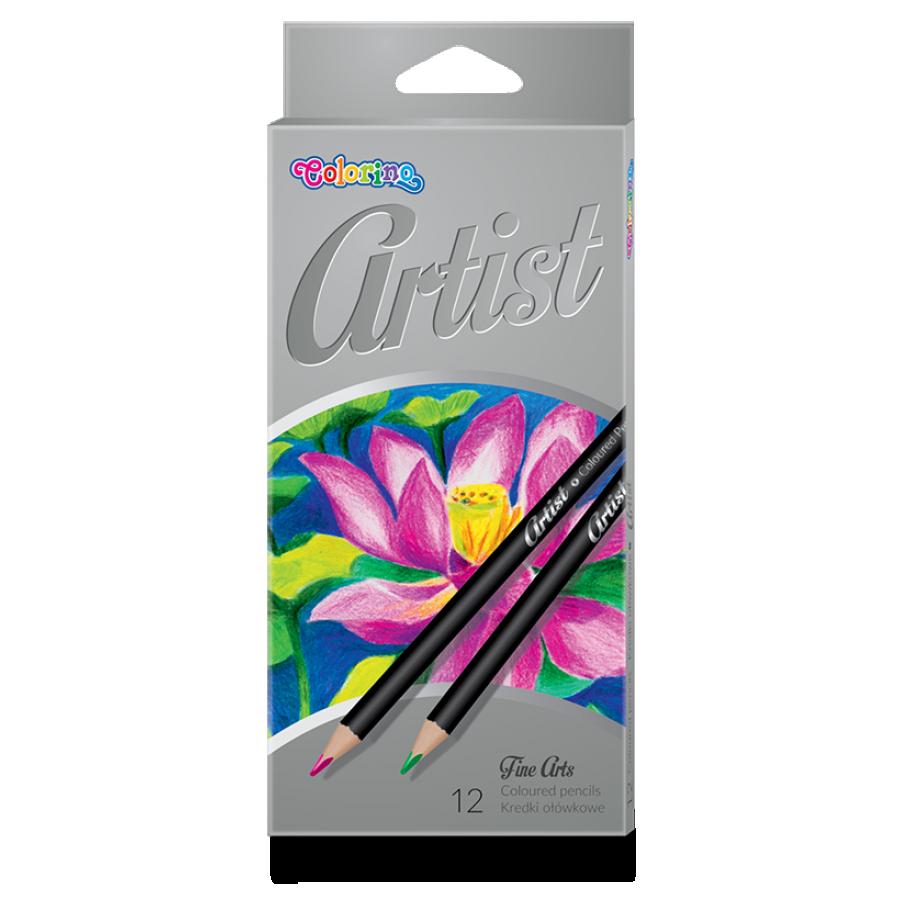 Карандаши цветные 12 цветов, Colorino Artist