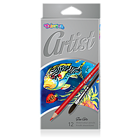 Карандаши акварельные 12 цветов, Colorino Artist