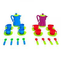 Детская посудка (13 предметов),игрушечная посуда,kinderway 04-429, фото 1