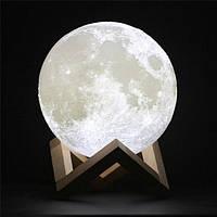 Ночник настольный светильник Луна 3D Moon Lamp Pro Original