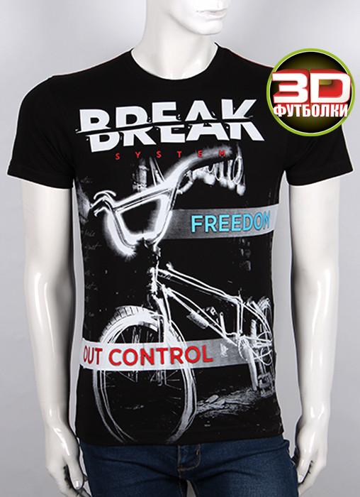 Футболка 3D Valimark Brand DREAK цвет  черный