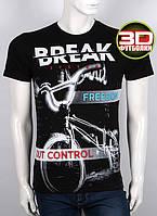 Футболка 3D Valimark Brand DREAK цвет  черный, фото 1
