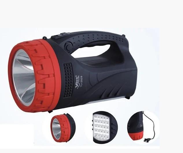 Фонарь прожектор аккумуляторный Yajia YJ-2829TP 5W + 25LED
