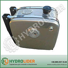 Бак гидравлический (гидробак) бокового крепления 160 л алюминиевый (42х50х52)