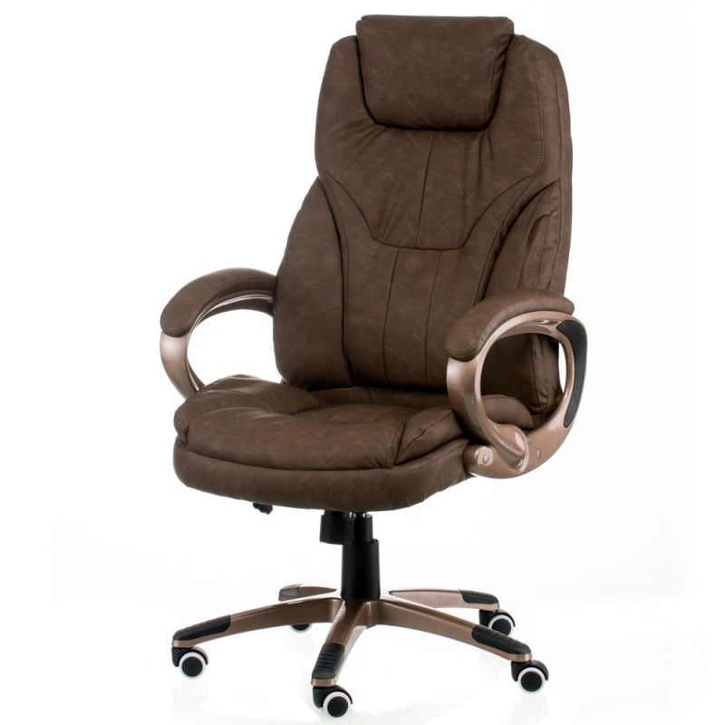 Крісло офісне Special4You Bayron brown (E0420)