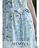 Платье №846-голубой, фото 4