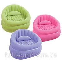 """Надувное кресло Intex """"Lounge'N Chair"""". 3 цвета"""