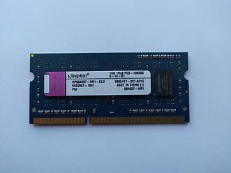 Оперативная память для ноутбука SODIMM Kingston DDR3 1Gb 1333MHz PC3-10600S (HP594907-HR1-ELD) Б/У