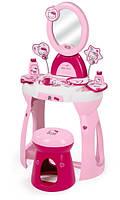 Туалетный столик со стулом для девочки 2 в 1 Hello Kitty Smoby 24119