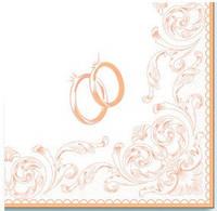 Салфетка La Fleur свадебные кольца