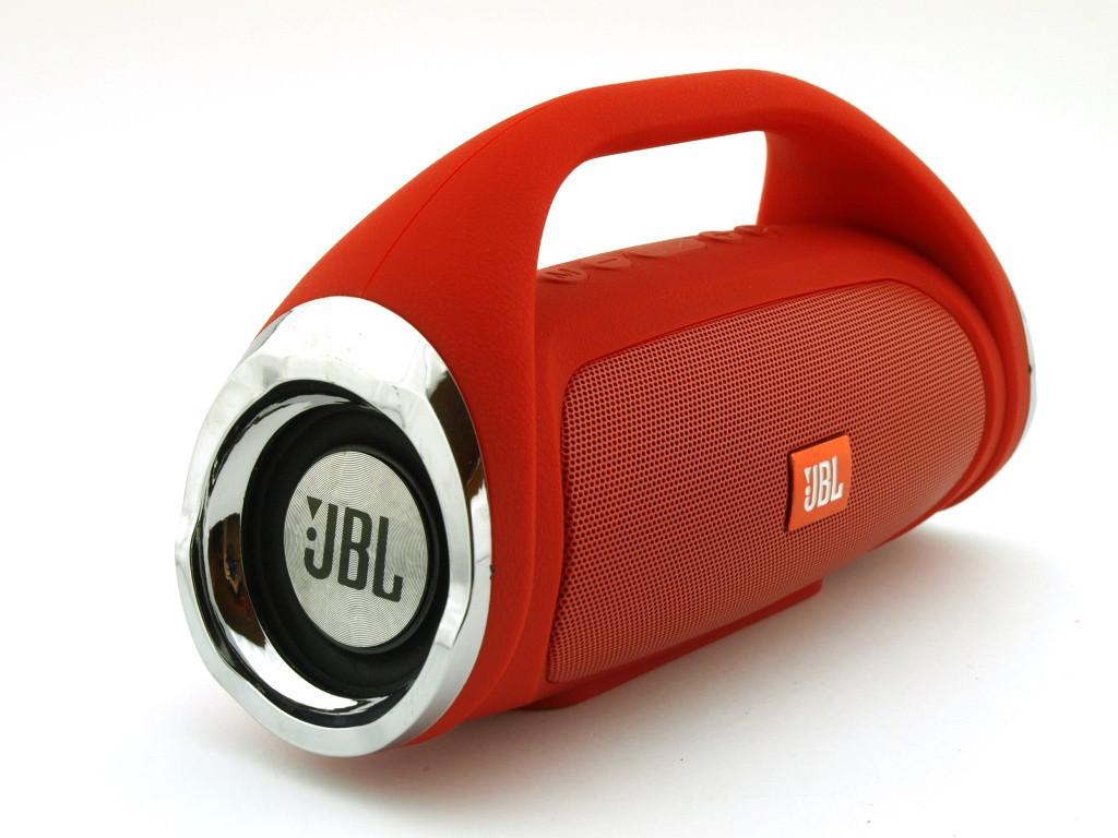 Колонка портативная JBL BOOMBOX mini красная