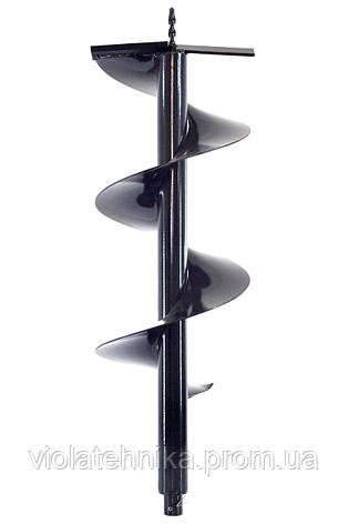 Шнек для мотобура 100мм х 1000мм, фото 2