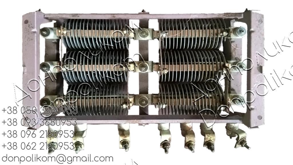 Блоки резисторов крановые Б6 (БФ6)  ИРАК 434.332.004-хх