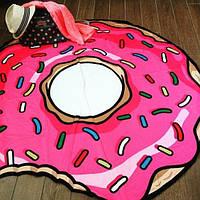Коврик для коридора, круглый, безворсовый, 80 см. - Пончик , килимки