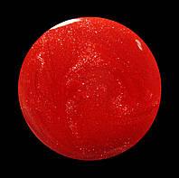Гель-лак для  ногтей № 211 SALON PROFESSIONAL  (CША) коралловы яркий с золотым микроблеском