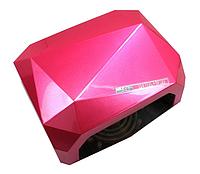 Лампа для гель лака UVLED SUN Diamond 36W малиновая
