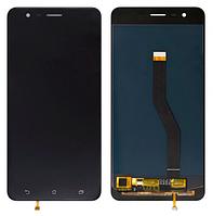 Дисплей модуль для Asus ZE553KL Zenfone 3 Zoom в зборі з тачскріном, чорний