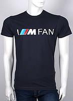 Футболка 3D Valimark Brand BMW M Fan power  черная