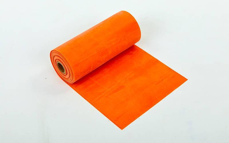 Лента эластичная для фитнеса и йоги в рулоне Active Sport  (5,5мx15смx0,45мм)