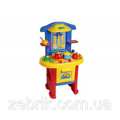 """""""Кухня 3 ТехноК"""" Кухня игрушечная с набором посуды"""