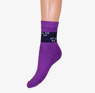 МАХРОВЫЕ женские носки с узором (BFL222) | 12 шт., фото 2