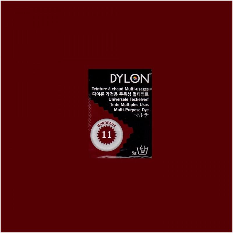 Багатоцільовий барвник для ручного фарбування Бордовий (Bordeaux) DYLON