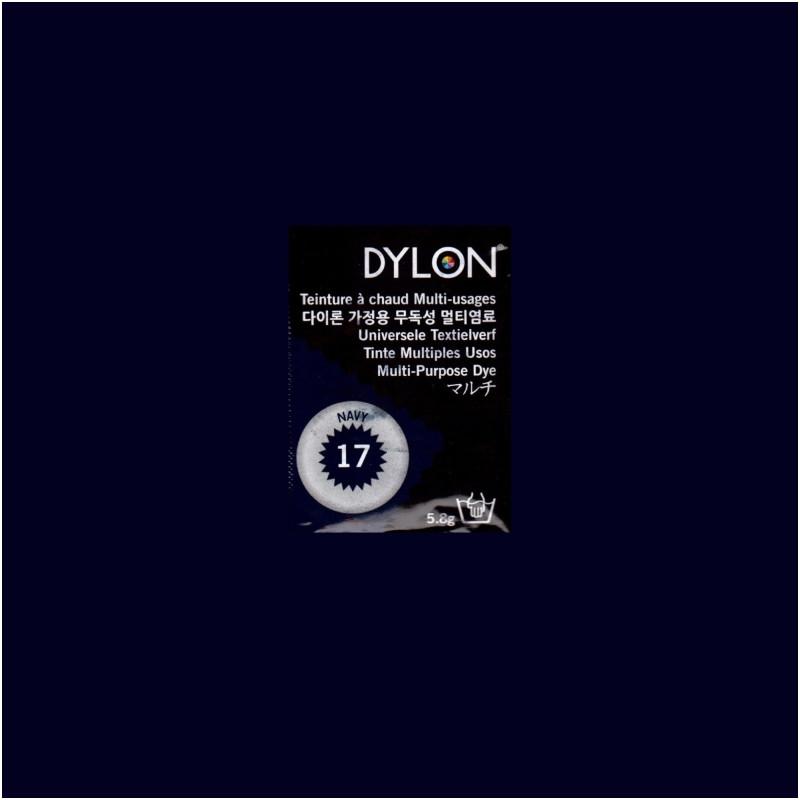 Многоцелевой краситель для ручного окрашивания ткани DYLON Multipurpose Navy