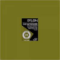Многоцелевой краситель для ручного окрашивания ткани DYLON Multipurpose Olive Green