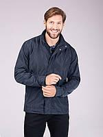 Мужская куртка (ветровка) Volcano J Basin темно-синяя