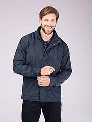 Мужская куртка (ветровка) Volcano J‑Basin темно-синяя