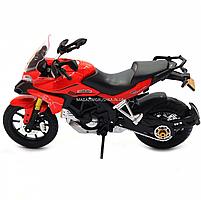 Мотоцикл Автопром HX-795, червоний, 16х5х10 см (7748), фото 4