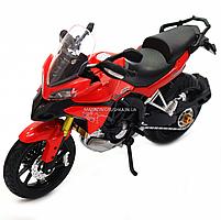 Мотоцикл Автопром HX-795, червоний, 16х5х10 см (7748), фото 5