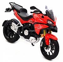 Мотоцикл Автопром HX-795, червоний, 16х5х10 см (7748), фото 6