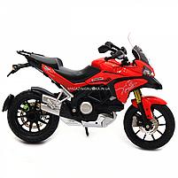 Мотоцикл Автопром HX-795, червоний, 16х5х10 см (7748), фото 7