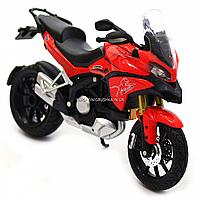 Мотоцикл Автопром HX-795, червоний, 16х5х10 см (7748), фото 8
