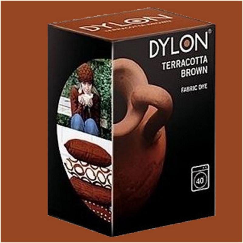 Краска для окрашивания ткани в стиральной машине DYLON Machine Use Terracotta Brown (без соли)